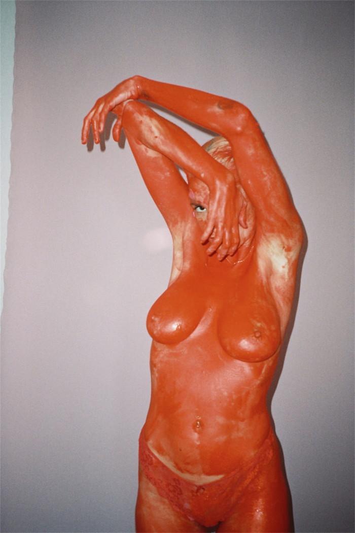 María Forqué exhibicionista