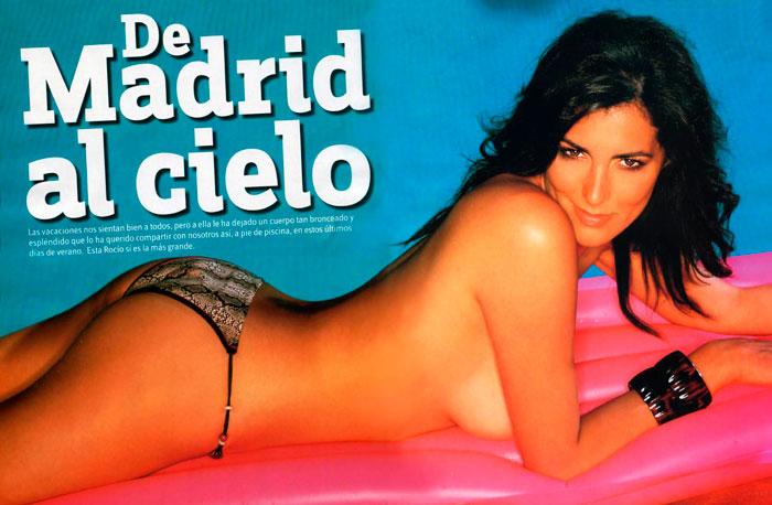 Rocio Madrid Azafata Crónicas Marcianas Sexy