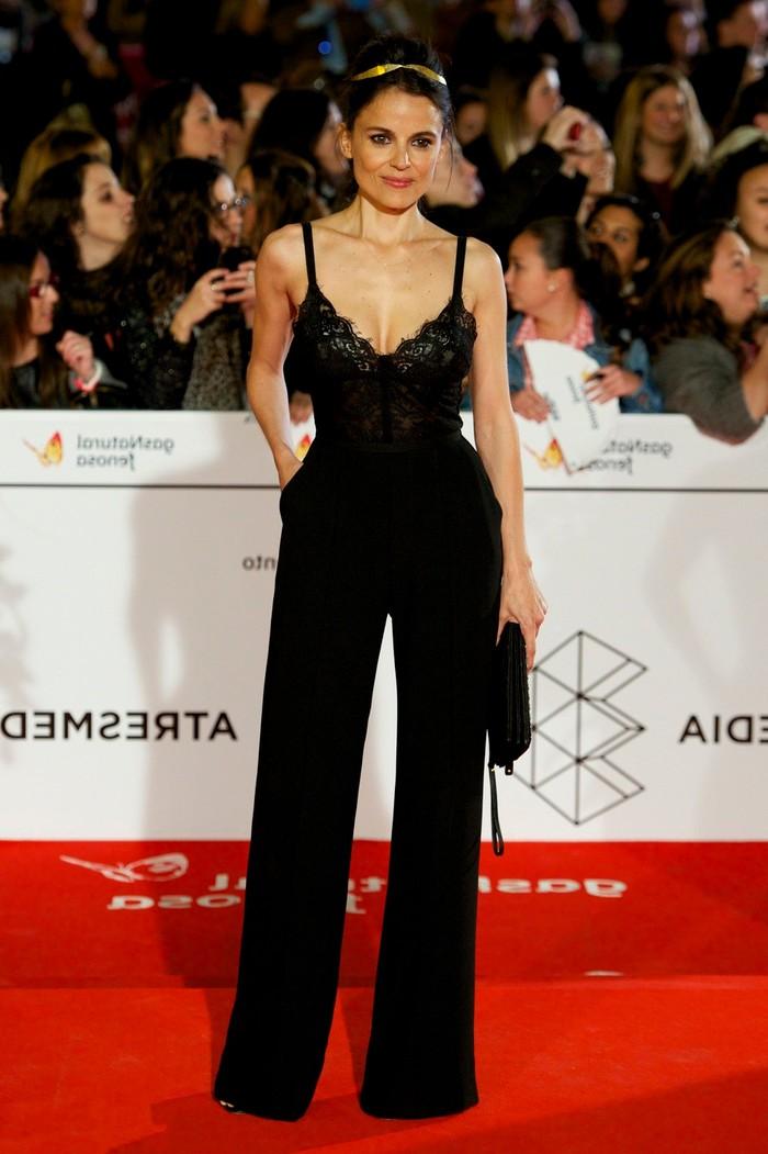 Elena Anaya Alfombra Roja Premio Goya Mejor Actriz