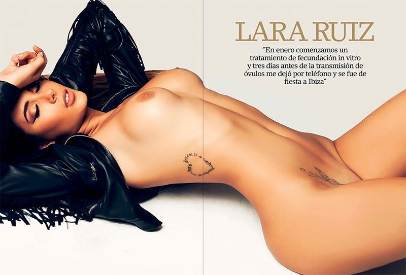 Lara Ruíz Desnuda Fotos Revista Interviu 5