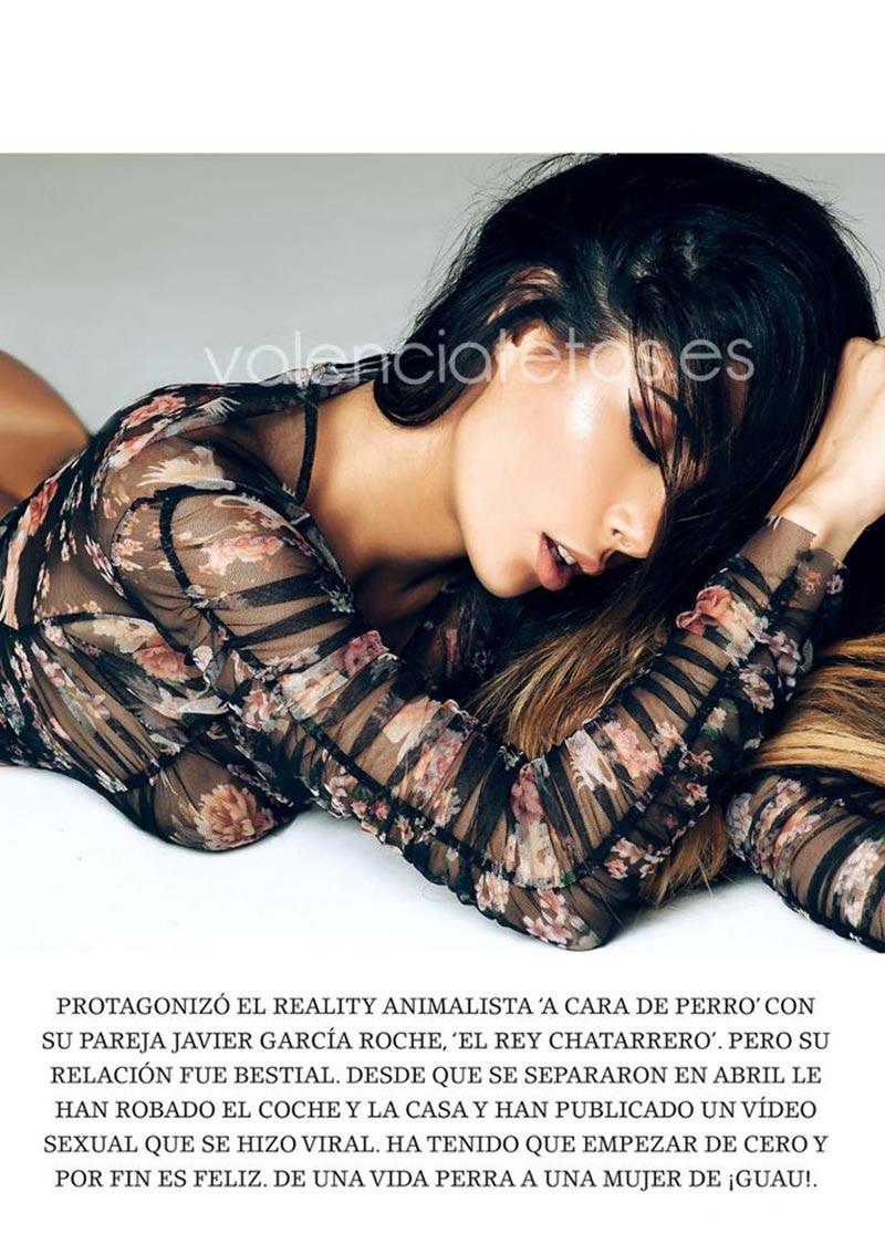 Lara Ruíz Desnuda Fotos Revista Interviu 7
