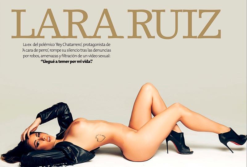 Lara Ruíz Desnuda Fotos Revista Interviu