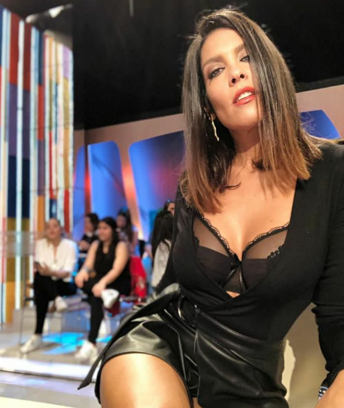 Lorena Castell en sujetador