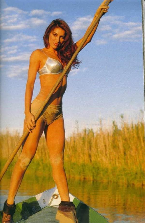 María Abradelo bikini