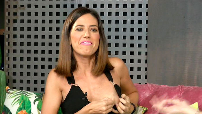Núria Marín Enseña Tetas Directo Telecinco