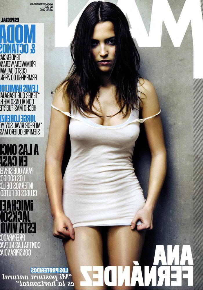 Ana Fernández Revista MAN