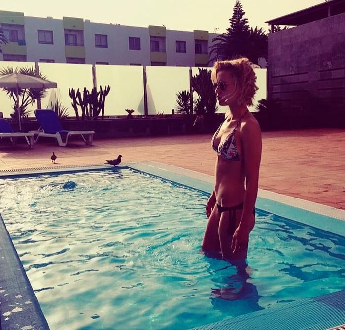 Ana Fernández foto bikini Instagram