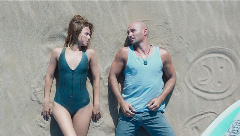 Aura Garrido Sexys Bañador Playa