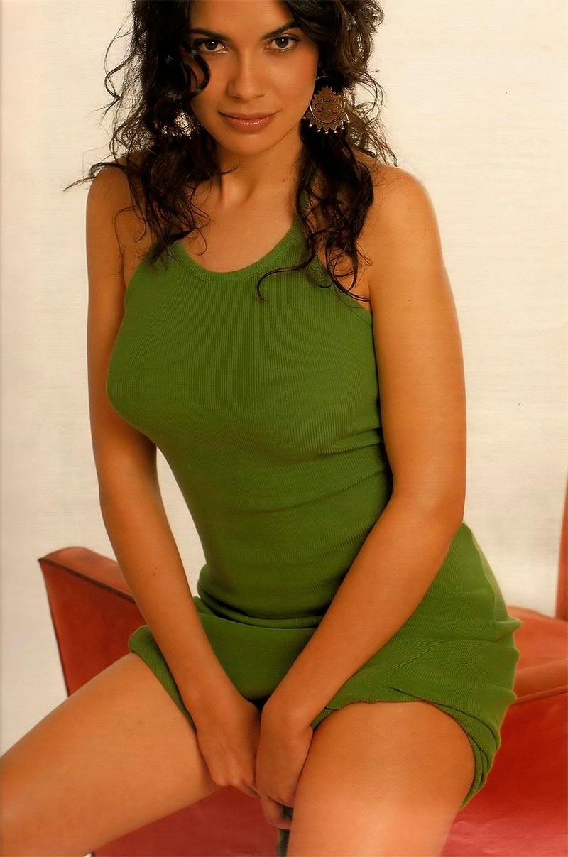 Pilar Punzano Fotos Sexys Modelito Vestido