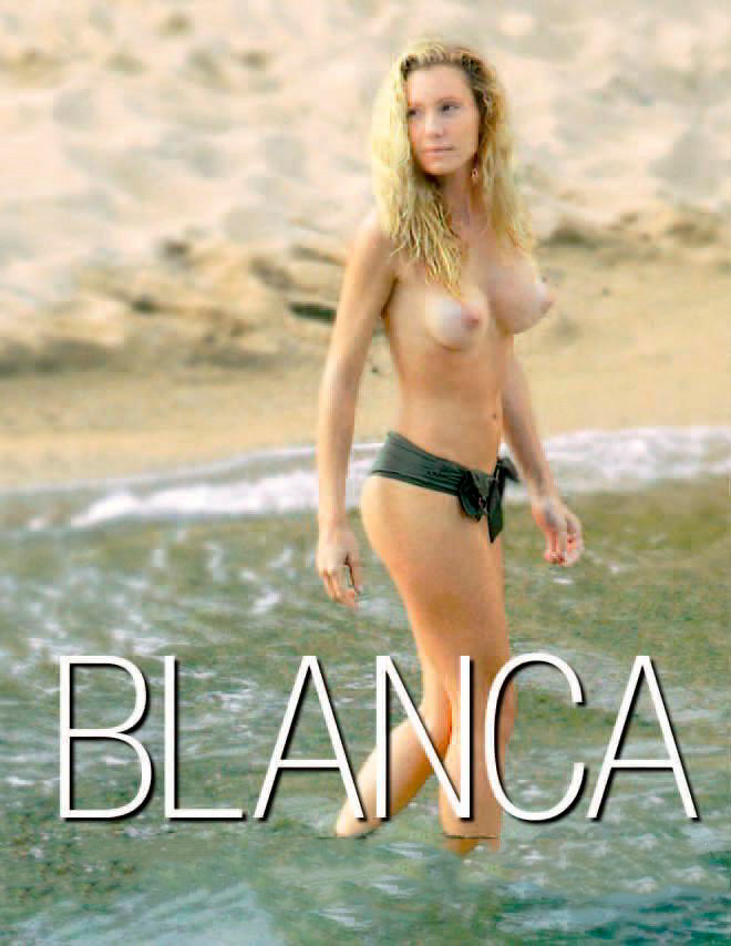 Blanca Cuesta modelo desnuda
