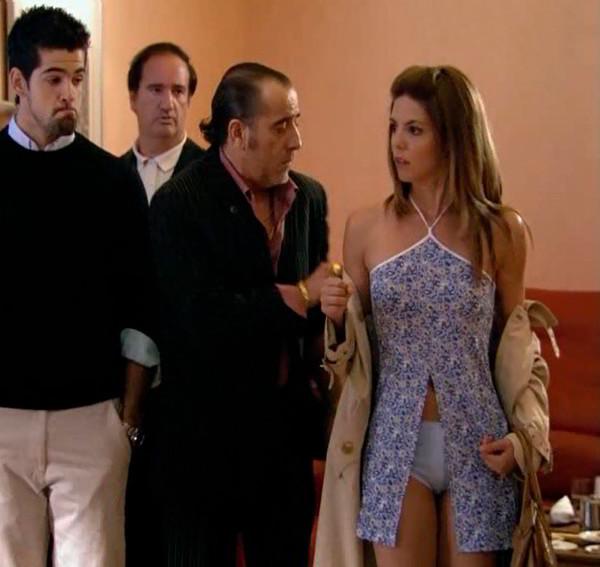 Manuela Velasco descuido bragas