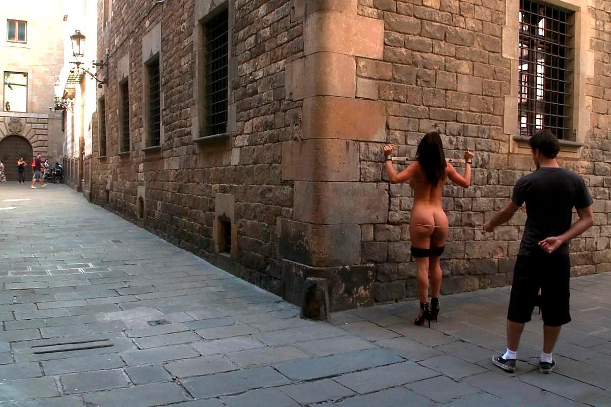 Franceska Jaimes follando calle James Deen 3