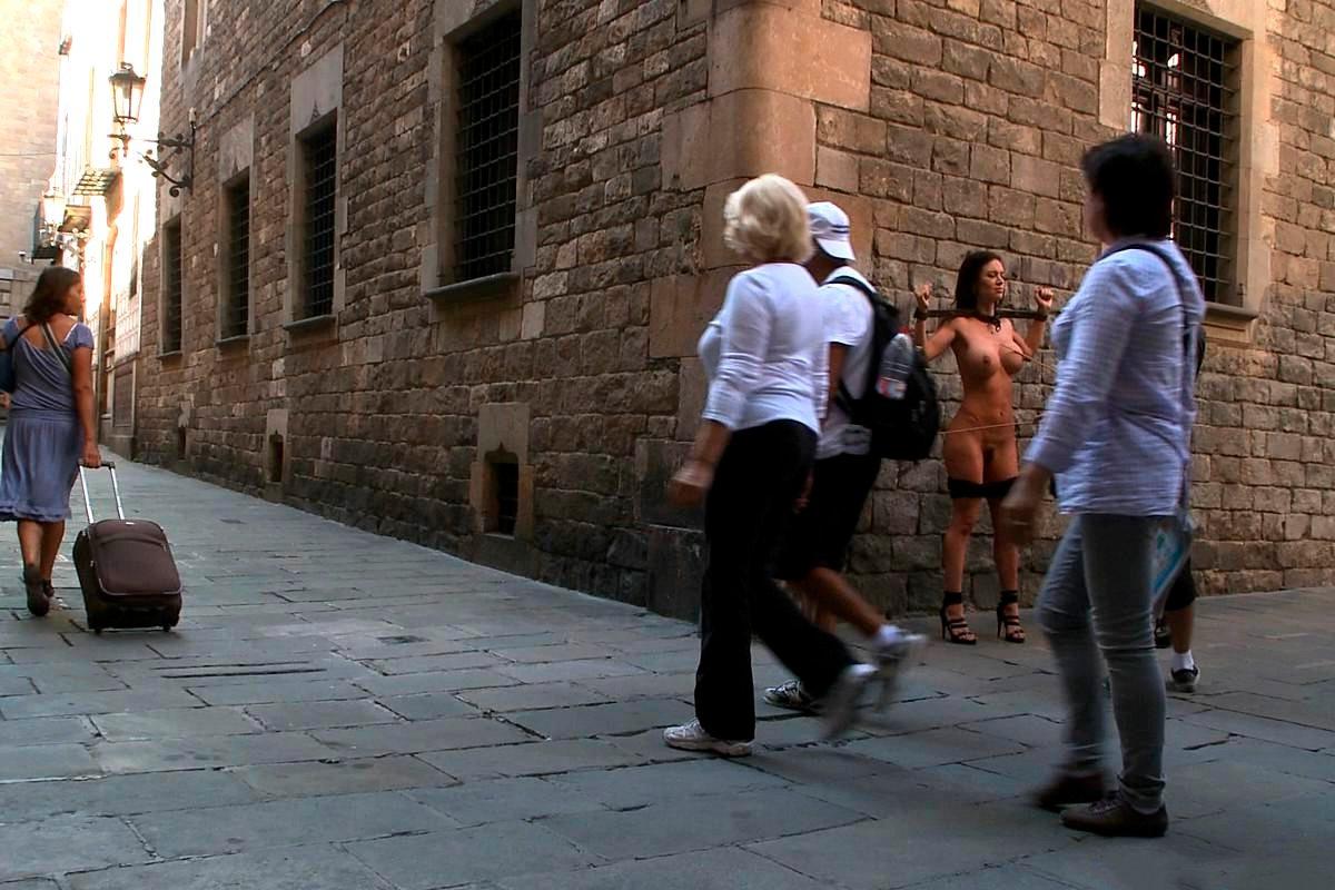 Franceska Jaimes humillación pública Barcelona 3