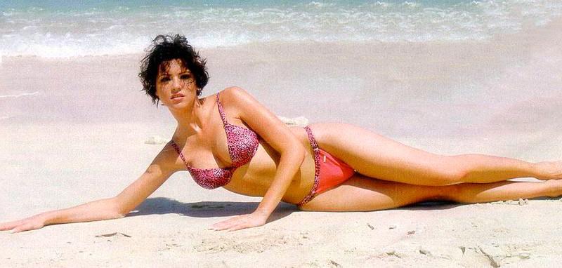 María Jesús Ruíz playa bikini