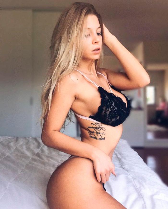 Romina Malaspina sesión fotográfica