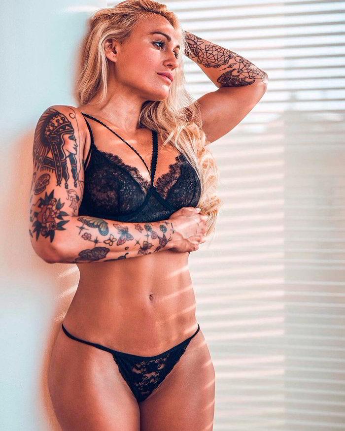 Isabel Castell cuerpo fibroso