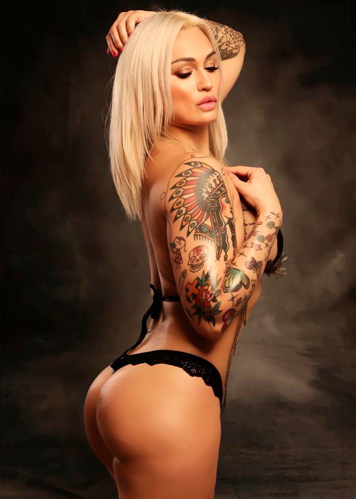Isabel Castell tatuajes