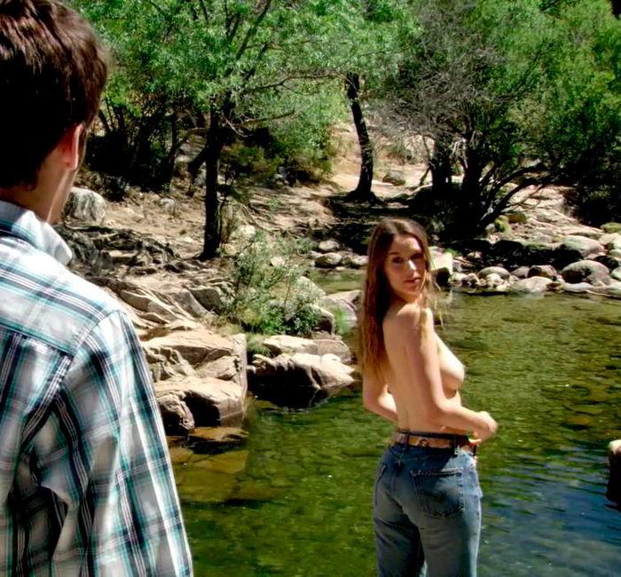 Katia Klein baño lago