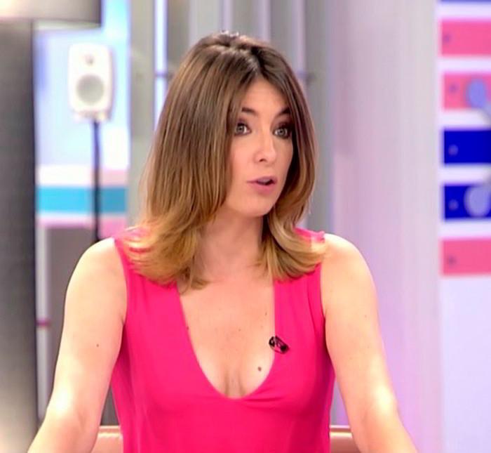Sandra Barneda Tetas