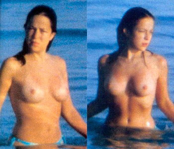 Silvia Abascal Topless pillada