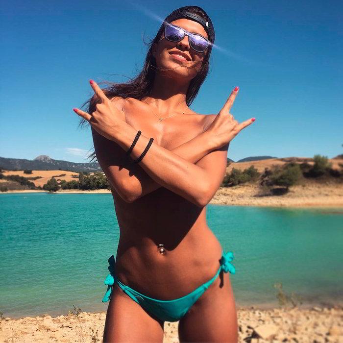 Sofía Suescun Topless playa