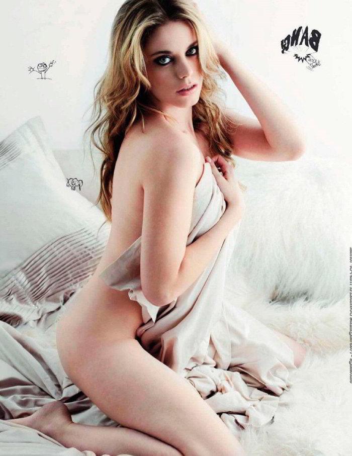 Carolina Bang desnuda revista