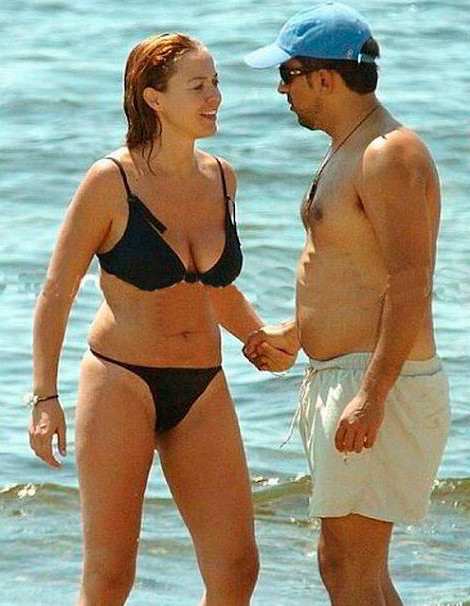 Carolina Ferré en bikini