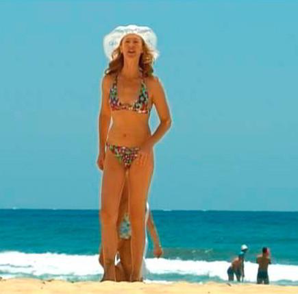 Mercedes 'Cuéntame' en la playa