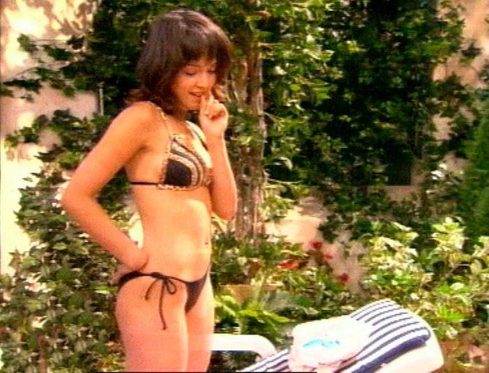 Verónica Sánchez Bikini Los Serrano