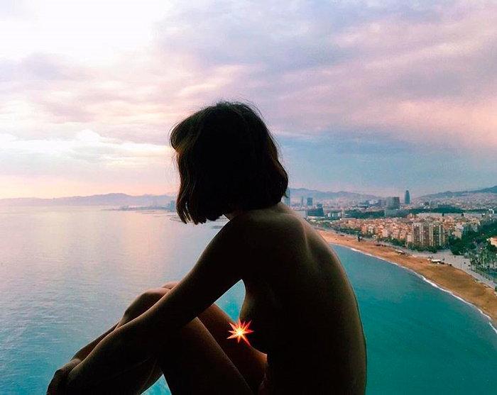Úrsula Corberó desnuda en Instagram