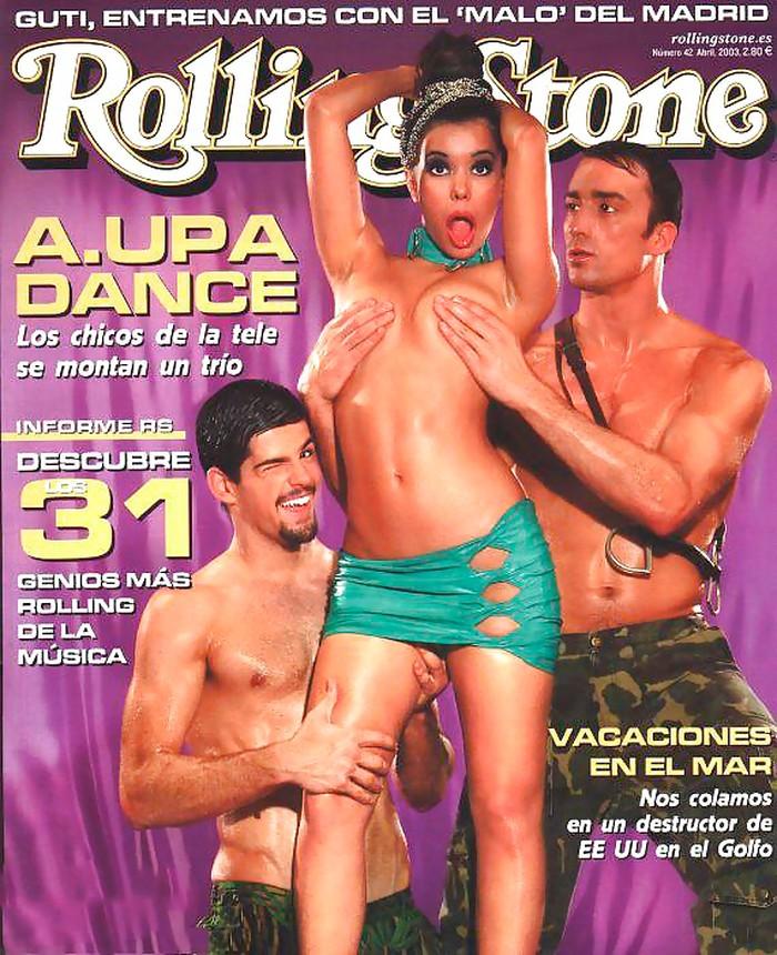 Beatriz Luengo portada revista erótica