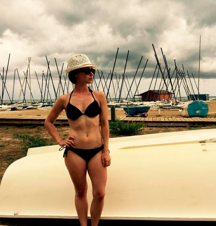Elena Rivera foto bikini