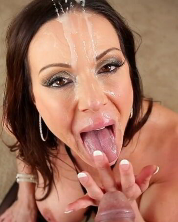 Kendra Lust facial overload