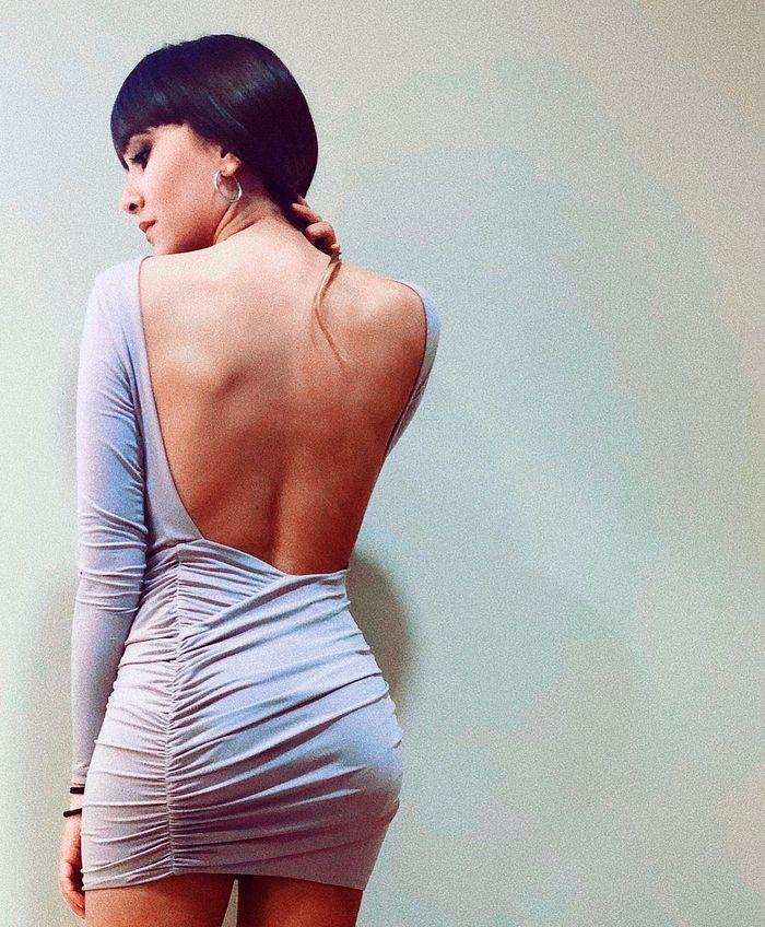 Aitana OT vestido a la moda