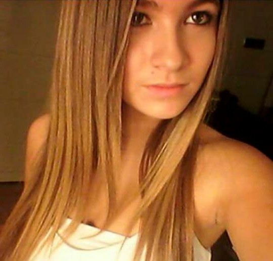 Carlota Boza selfie