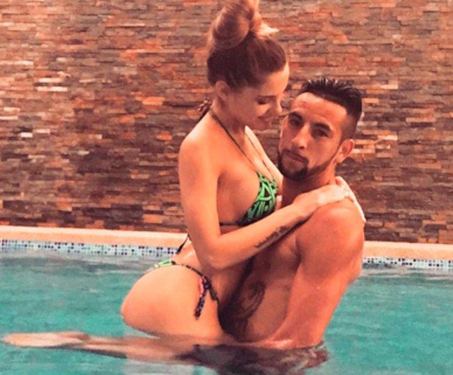 El Huaso con su esposa