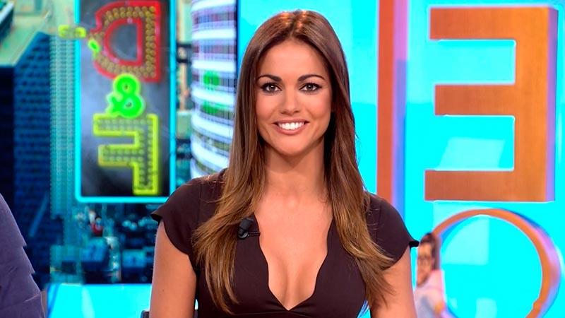 Lara Álvarez Escote Pechos Televisión 2