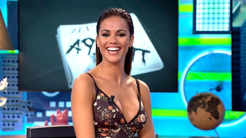Lara Álvarez Escote Pechos Televisión 3