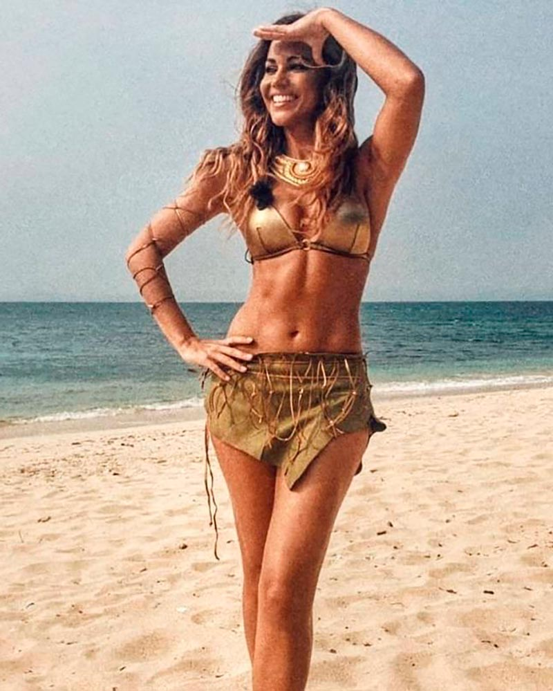 Lara Álvarez Modelito Erótico Playa Caribe 2