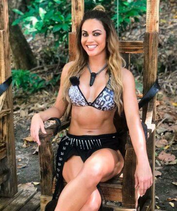 Lara Álvarez Modelito Erótico Playa Caribe 4