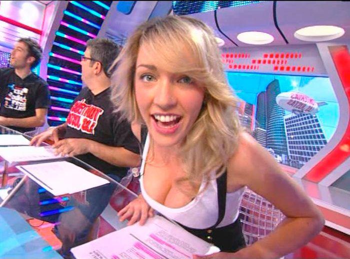 Anna Simón presentadora Tv