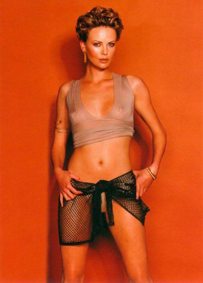 Charlize Theron actriz americana