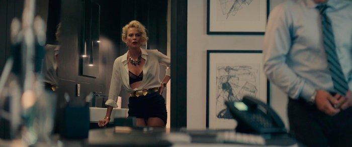 Charlize Theron follando película Gringo
