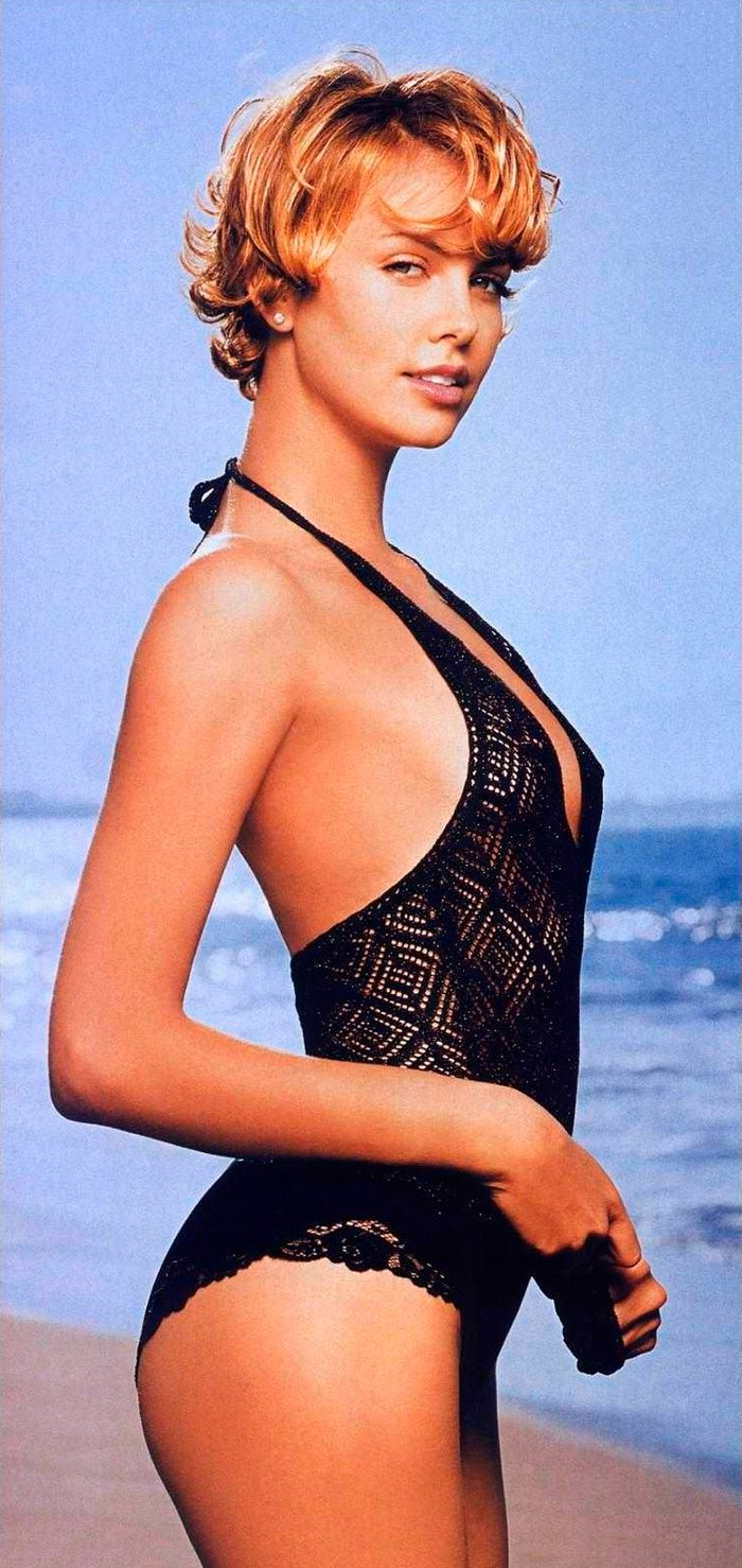 Charlize Theron fotos posados sexys