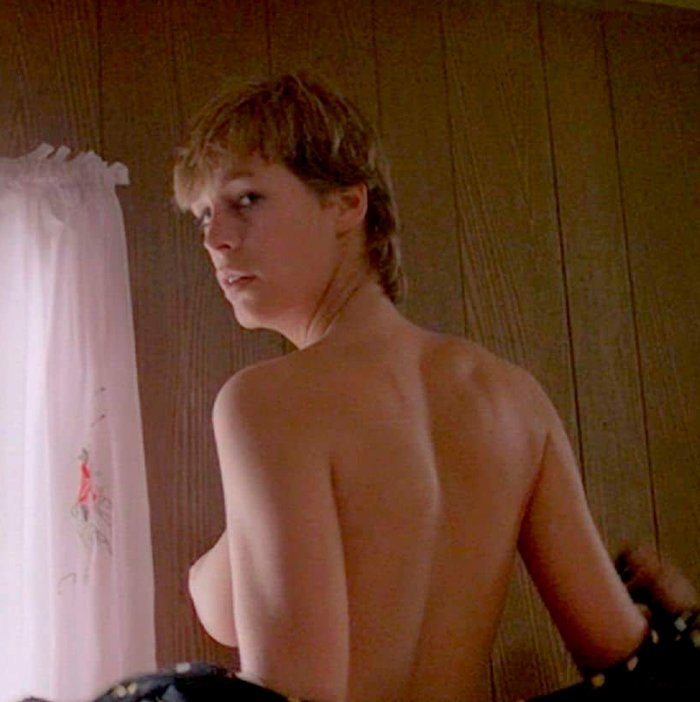 Jamie Lee Curtis en topless