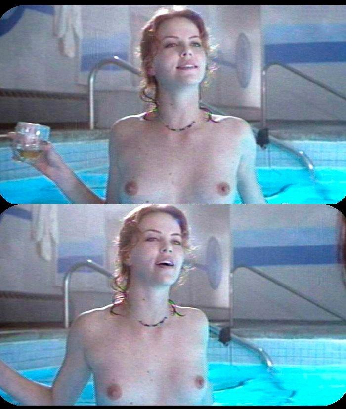 Las tetas de Charlize Theron