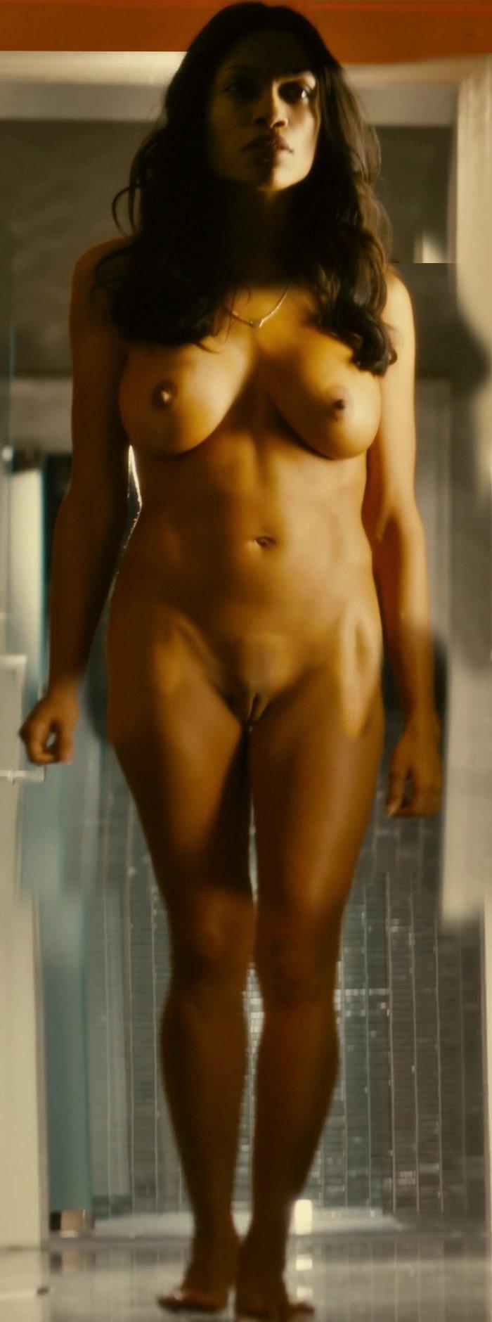 Rosario Dawson desnuda en película Trance