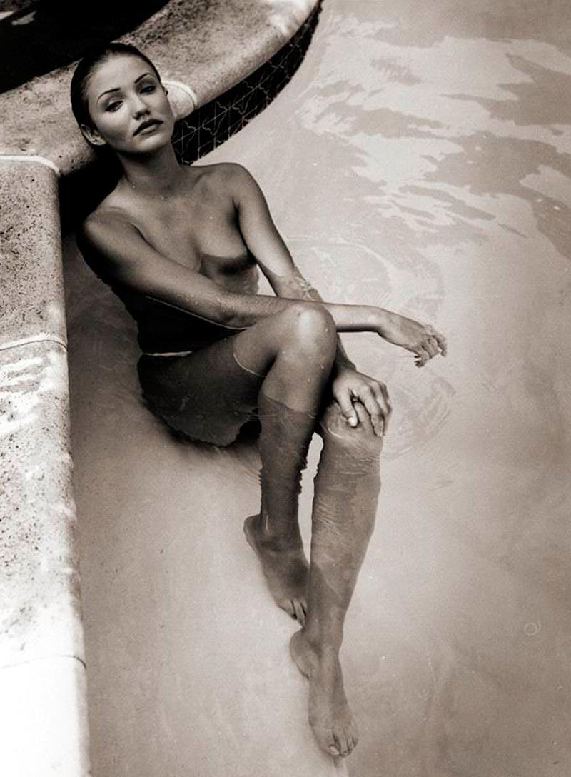 Cameron Diaz Desnuda Fotos Eróticas Posado Artístico