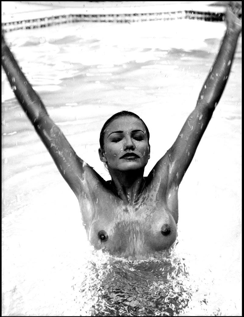 Cameron Diaz Desnuda Topless Posado Artístico 4