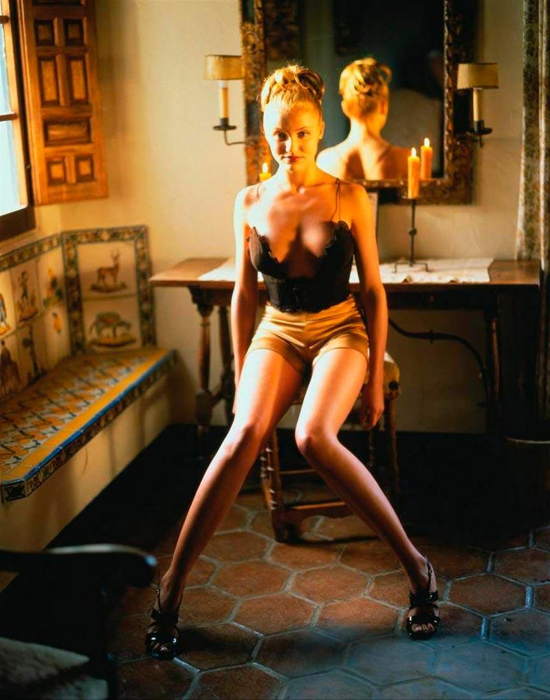 Cameron Diaz Fotos Lencería Erótica 6
